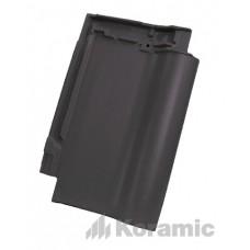 Черепица Koramic Alegra 12  глубоко-черная