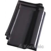 Черепица Koramic E 32 черная благородная