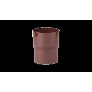 PROFIL Соединитель трубы водосточной коричневый