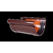 PROFIL Соединитель желоба коричневый