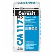 Клей эластичный Ceresit CM 117 PRO для любых видов плитки (27кг)