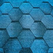 Тегола Черепица Мозаик синяя ночь