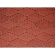 IKO DIAMANT PLUS Tile Red