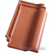 Черепица Koramic E 32 красная ангоба