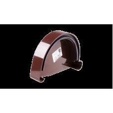 PROFIL Заглушка желоба левая L коричневый