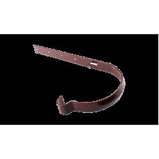 PROFIL Держатель желоба металлический коричневый