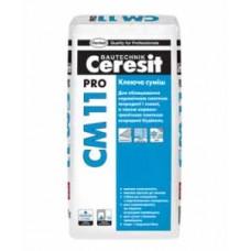 Клей для плитки Ceresit CM 11 PRO для внутренних и наружных работ (27кг)